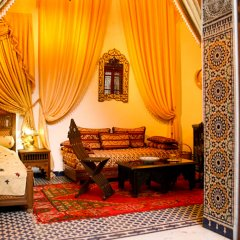 Отель Riad Louna Марокко, Фес - отзывы, цены и фото номеров - забронировать отель Riad Louna онлайн интерьер отеля