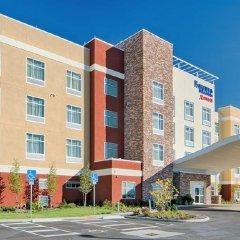Отель Fairfield Inn & Suites by Marriott Columbus Dublin парковка