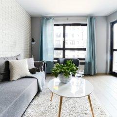Апартаменты Comfortable Apartment in Warsaw комната для гостей фото 5