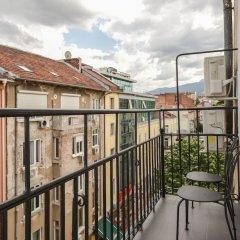 Отель FM Luxury 2-BDR Apartment - Jazzy Болгария, София - отзывы, цены и фото номеров - забронировать отель FM Luxury 2-BDR Apartment - Jazzy онлайн балкон