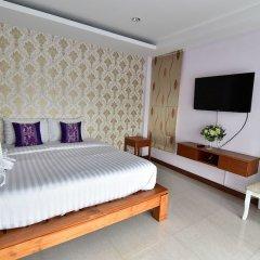 Апартаменты Kaewfathip Apartment Паттайя комната для гостей фото 2