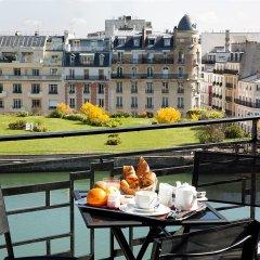 Отель Best Western Hôtel Victor Hugo балкон