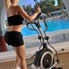 Отель Blue Dolphin Hotel Греция, Метаморфоси - отзывы, цены и фото номеров - забронировать отель Blue Dolphin Hotel онлайн фитнесс-зал фото 4