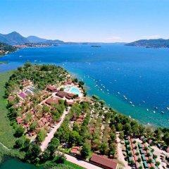 Отель Camping Villaggio Isolino Италия, Вербания - отзывы, цены и фото номеров - забронировать отель Camping Villaggio Isolino онлайн пляж