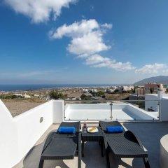 Отель Anamnesis Spa Luxury Apartments Греция, Остров Санторини - отзывы, цены и фото номеров - забронировать отель Anamnesis Spa Luxury Apartments онлайн балкон