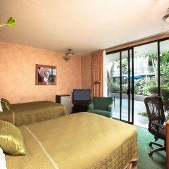 Отель Travelodge Hotel at LAX США, Лос-Анджелес - отзывы, цены и фото номеров - забронировать отель Travelodge Hotel at LAX онлайн комната для гостей фото 3