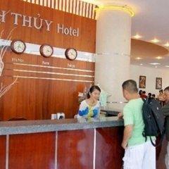 Отель Thanh Thuy Hotel Вьетнам, Вунгтау - отзывы, цены и фото номеров - забронировать отель Thanh Thuy Hotel онлайн интерьер отеля
