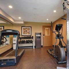 Отель Best Western Maple Ridge Hotel Канада, Мэйпл-Ридж - отзывы, цены и фото номеров - забронировать отель Best Western Maple Ridge Hotel онлайн фитнесс-зал