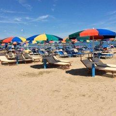 Отель Riva e Mare Италия, Римини - отзывы, цены и фото номеров - забронировать отель Riva e Mare онлайн пляж