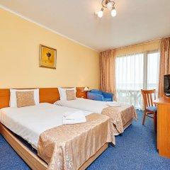 Отель Paradise Hotel Болгария, Поморие - отзывы, цены и фото номеров - забронировать отель Paradise Hotel онлайн комната для гостей фото 5