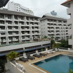 Апартаменты Jomtien Good Luck Apartment Паттайя бассейн