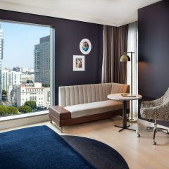 Отель Indigo Los Angeles Downtown, an IHG Hotel США, Лос-Анджелес - отзывы, цены и фото номеров - забронировать отель Indigo Los Angeles Downtown, an IHG Hotel онлайн комната для гостей фото 3
