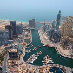 Отель Stella Di Mare Dubai Marina балкон