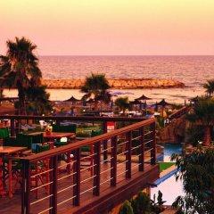 Отель Lordos Beach Кипр, Ларнака - 6 отзывов об отеле, цены и фото номеров - забронировать отель Lordos Beach онлайн пляж фото 2