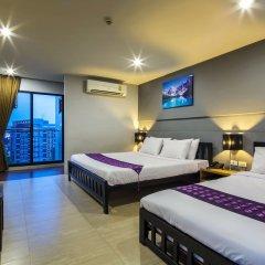 Отель Livotel Hotel Lat Phrao Bangkok Таиланд, Бангкок - отзывы, цены и фото номеров - забронировать отель Livotel Hotel Lat Phrao Bangkok онлайн комната для гостей фото 2