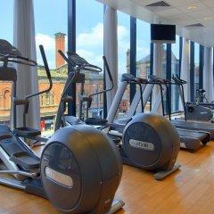 Отель Hilton Manchester Deansgate Манчестер фитнесс-зал