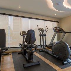 Отель Glow Sukhumvit 5 By Centropolis Бангкок фитнесс-зал фото 2
