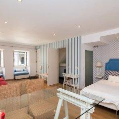 Апартаменты Studio In Typical Paz By Hideout Лиссабон комната для гостей фото 2