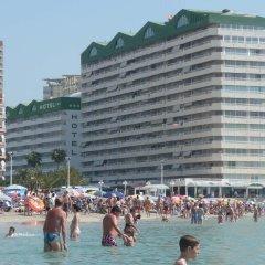 Отель Apartamentos Esmeralda Unitursa пляж