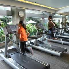 Dusit Thani Bangkok Hotel фитнесс-зал