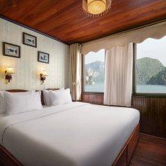 Отель Garden Bay Legend Cruise Вьетнам, Халонг - отзывы, цены и фото номеров - забронировать отель Garden Bay Legend Cruise онлайн комната для гостей фото 5