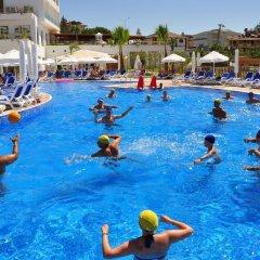 Side Prenses Resort Hotel & Spa Турция, Анталья - 3 отзыва об отеле, цены и фото номеров - забронировать отель Side Prenses Resort Hotel & Spa онлайн бассейн фото 2