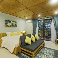 Отель De Campagne Villa Hoi An комната для гостей