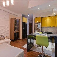 Апартаменты Imperial Apartments Aquarius III Сопот комната для гостей фото 5