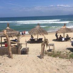 Отель An Bang Beach Nature Homestay пляж фото 2