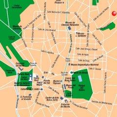 Отель Zenit Conde De Orgaz Мадрид городской автобус