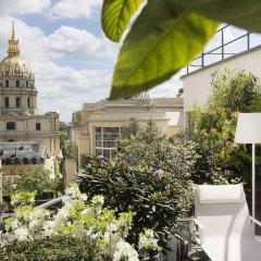 Отель Le Cinq Codet Франция, Париж - отзывы, цены и фото номеров - забронировать отель Le Cinq Codet онлайн балкон
