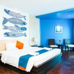 Отель Sea Breeze Jomtien Resort комната для гостей фото 17