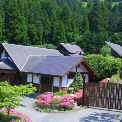 Отель Log Sanso Hinotori Минамиогуни фото 2