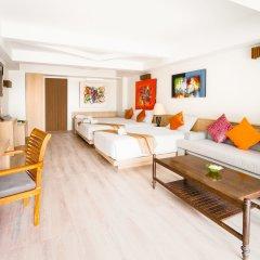 Отель Villa Cha-Cha Krabi Beachfront Resort Таиланд, Краби - отзывы, цены и фото номеров - забронировать отель Villa Cha-Cha Krabi Beachfront Resort онлайн комната для гостей фото 5