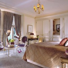 Отель Le Meurice Dorchester Collection Париж комната для гостей фото 4