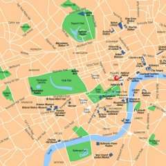 Thistle Trafalgar Square Hotel Лондон городской автобус