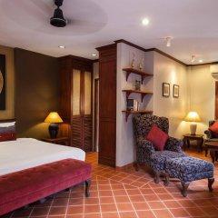 Отель Villa Deux Rivieres Лаос, Луангпхабанг - отзывы, цены и фото номеров - забронировать отель Villa Deux Rivieres онлайн комната для гостей фото 2