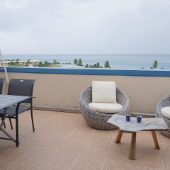 Отель Ninamu Appart Французская Полинезия, Фааа - отзывы, цены и фото номеров - забронировать отель Ninamu Appart онлайн балкон