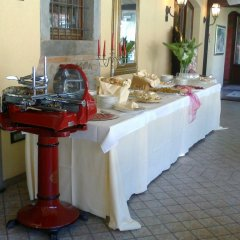Hotel Ristorante La Bettola Урньяно питание