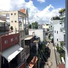 Отель Ba Dat Homestay Q6 балкон