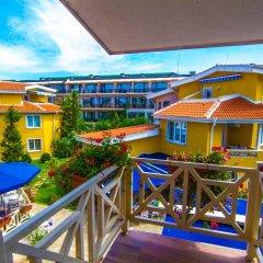 Отель Blue Orange Beach Resort балкон