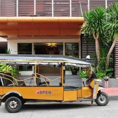 Отель Aspen Suites Бангкок городской автобус
