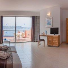 Отель Dolmen Hotel Malta Мальта, Каура - отзывы, цены и фото номеров - забронировать отель Dolmen Hotel Malta онлайн комната для гостей фото 5