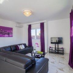 Отель Villa Hollywood Кипр, Протарас - отзывы, цены и фото номеров - забронировать отель Villa Hollywood онлайн комната для гостей фото 4