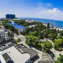 Гостиница Санаторий Анапа Океан в Анапе 1 отзыв об отеле, цены и фото номеров - забронировать гостиницу Санаторий Анапа Океан онлайн пляж фото 2