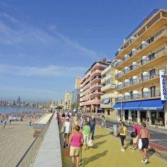 Отель Marconi Hotel Испания, Бенидорм - отзывы, цены и фото номеров - забронировать отель Marconi Hotel онлайн пляж фото 2