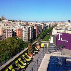 Отель Barcelona Universal Испания, Барселона - 4 отзыва об отеле, цены и фото номеров - забронировать отель Barcelona Universal онлайн балкон
