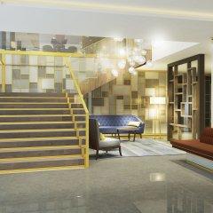 Отель Courtyard Marriott Belgrade City Center Сербия, Белград - 1 отзыв об отеле, цены и фото номеров - забронировать отель Courtyard Marriott Belgrade City Center онлайн интерьер отеля