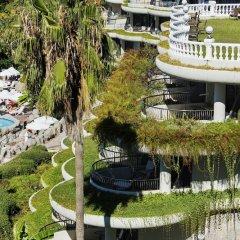 Crystal Sunrise Queen Luxury Resort & Spa Турция, Сиде - 1 отзыв об отеле, цены и фото номеров - забронировать отель Crystal Sunrise Queen Luxury Resort & Spa - All Inclusive онлайн приотельная территория фото 2