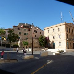Отель Hostal El Castell балкон